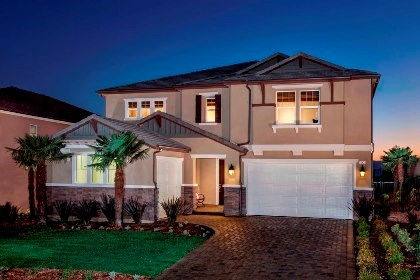 New Homes in Santa Clarita, CA - Elevation 'D'