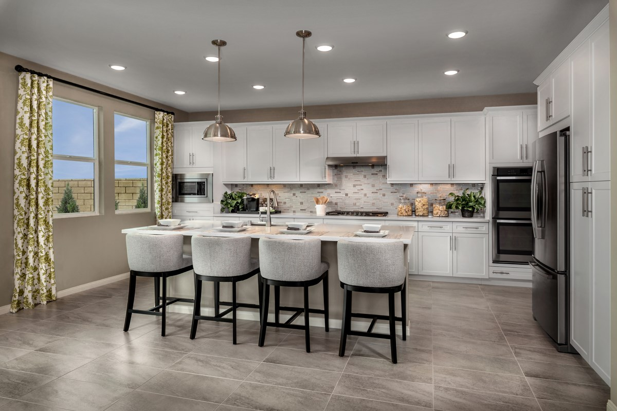 New Homes in Santa Clarita, CA - Canyon Crest Residence 4215 Kitchen