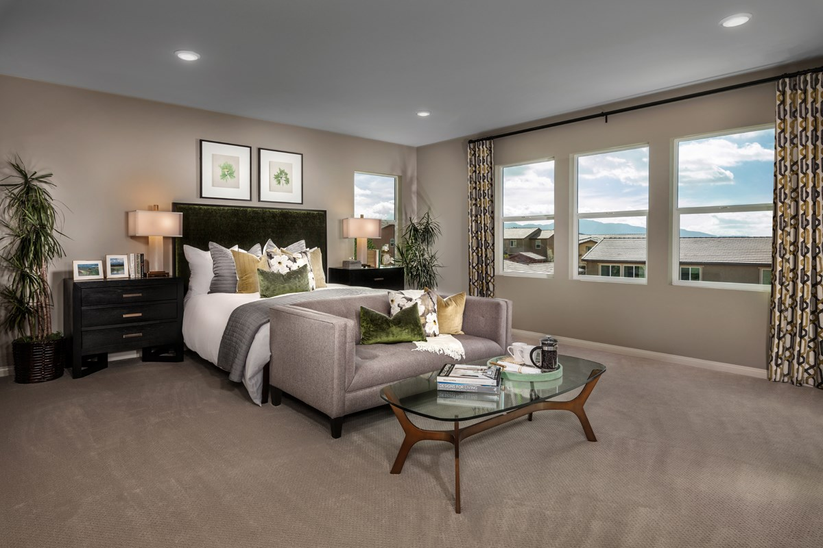 New Homes in Santa Clarita, CA - Canyon Crest Residence 4215 Master Bedroom