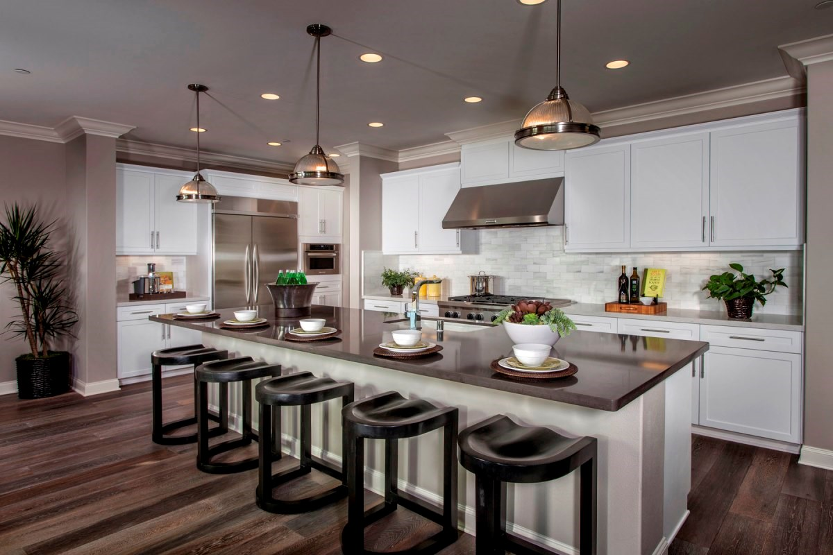 New Homes in Santa Clarita, CA - Canyon Crest Residence 4515 Kitchen