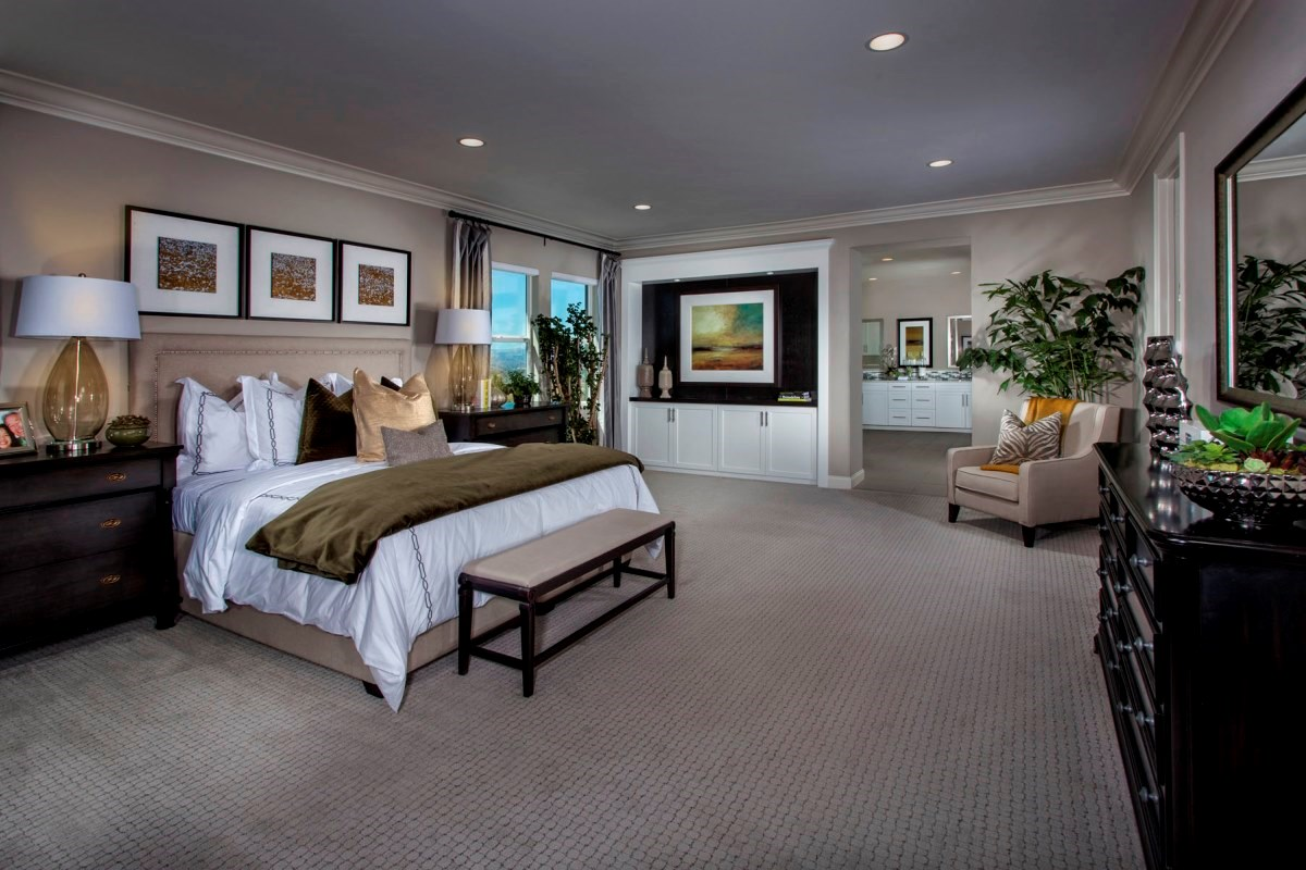 New Homes in Santa Clarita, CA - Canyon Crest Residence 4515 Master Bedroom