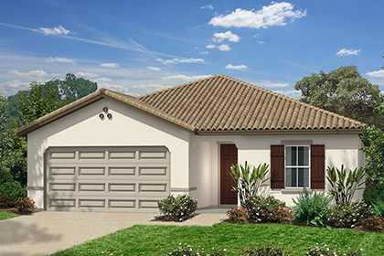 New Homes in Santa Clarita, CA - Spanish 'A'