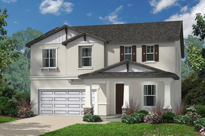 New Homes in Santa Clarita, CA - Craftsman 'B'