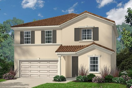 New Homes in Santa Clarita, CA - Italianate 'E'