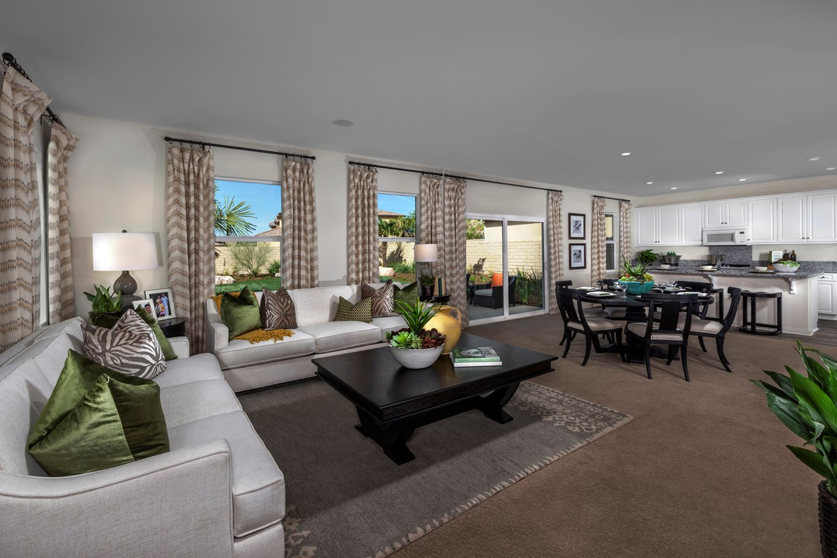 New Homes in Santa Clarita, CA - Canyon Heights Residence 2532 Great Room