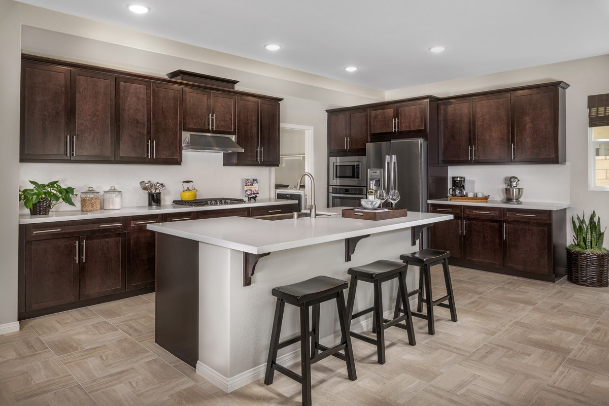 New Homes in Santa Clarita, CA - Canyon Heights Residence 3187 Kitchen