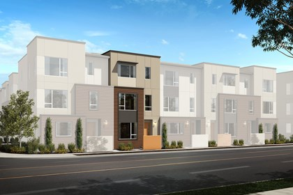 New Homes in Downey, CA - Building Exterior