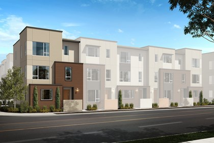 New Homes in Downey, CA - Residence Three