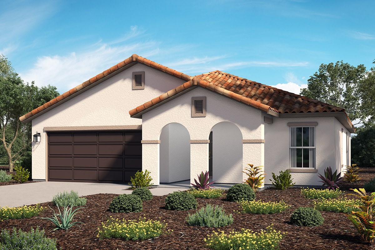 New Homes in Lancaster, CA - Dorado Skies II  Residence 1 - Spanish 'A'