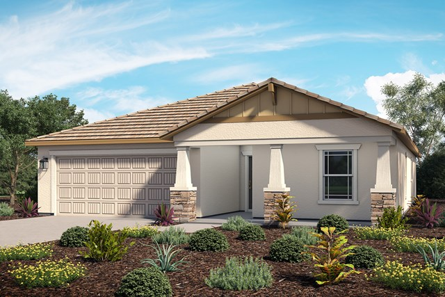 New Homes in Lancaster, CA - Residence 1 - Craftsman 'B'