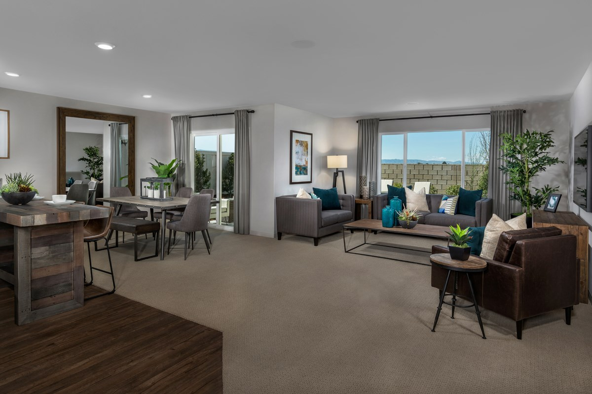 New Homes in Lancaster, CA - Dorado Skies II  Residence 1 - Great Room