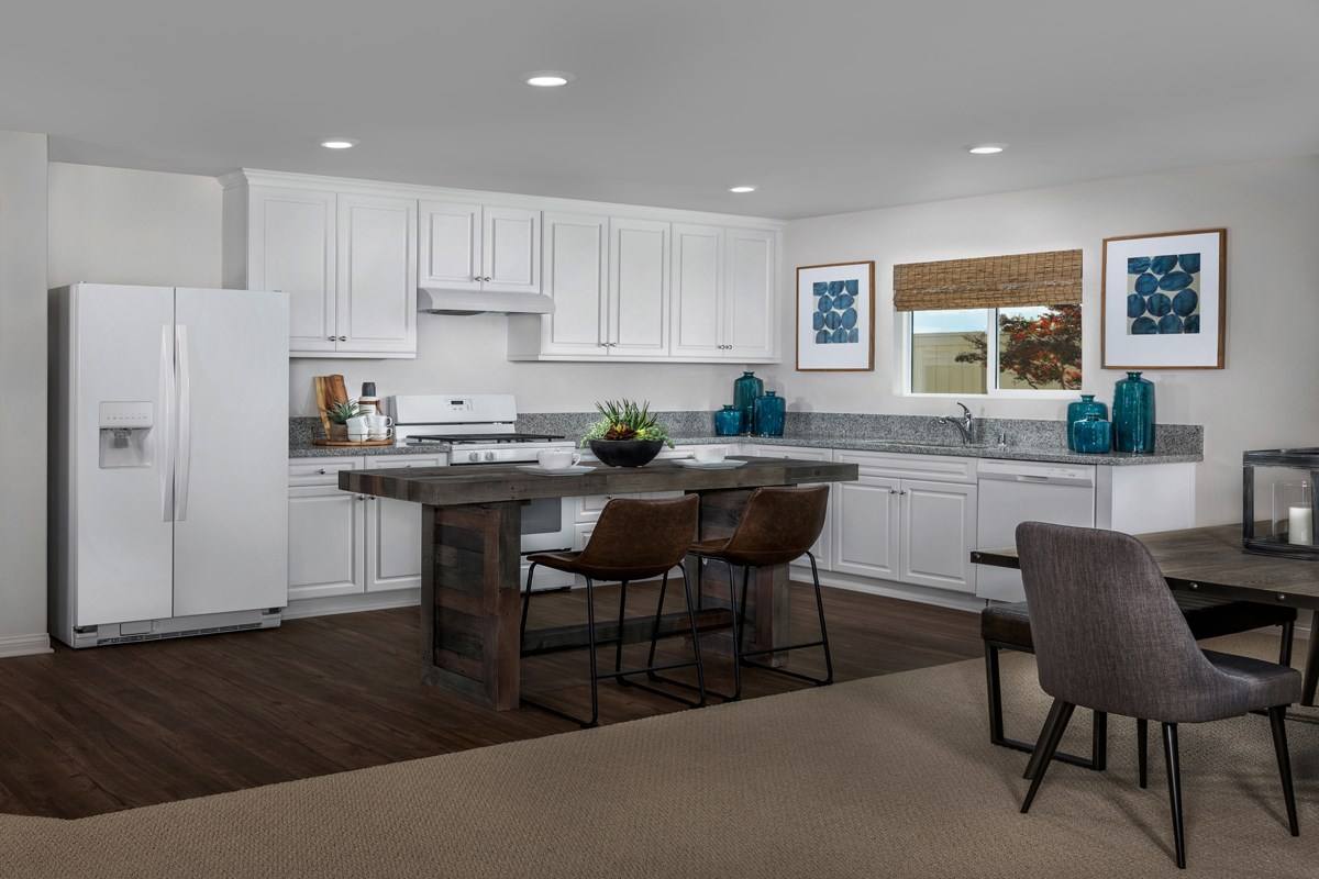 New Homes in Lancaster, CA - Dorado Skies II  Residence 1 - Kitchen