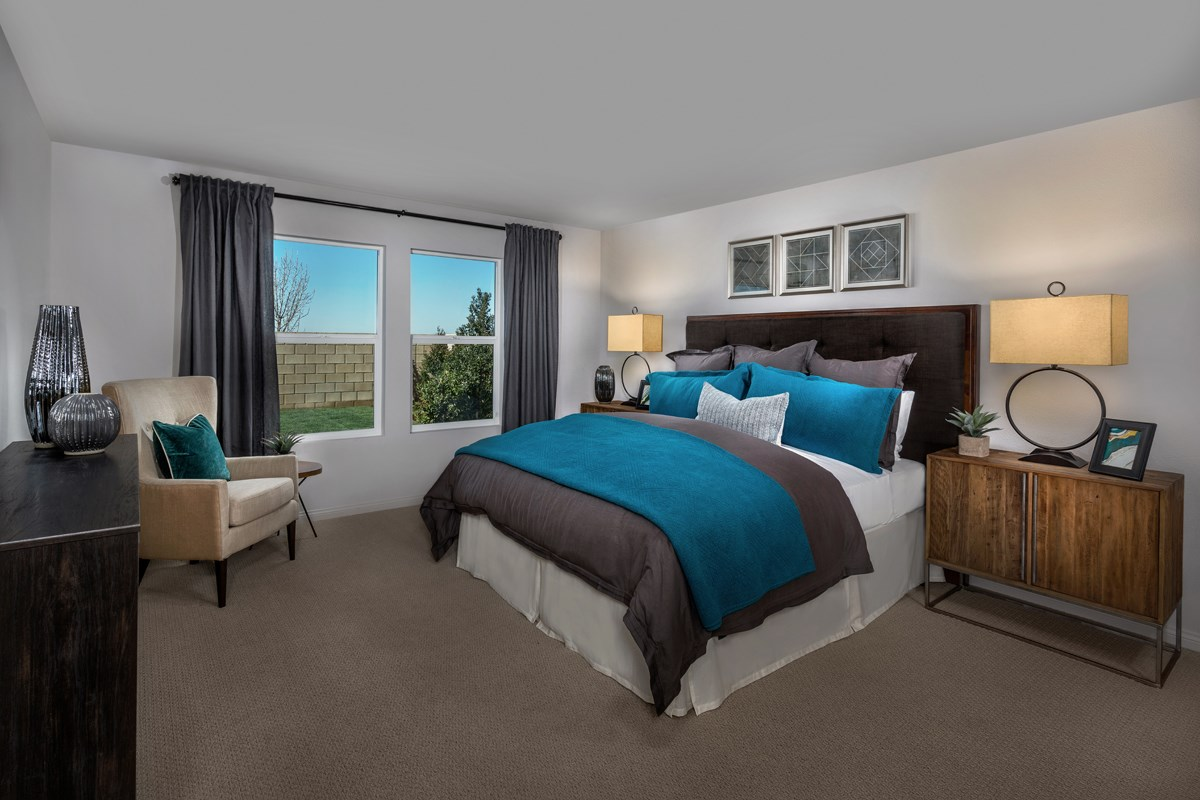 New Homes in Lancaster, CA - Dorado Skies II  Residence 1 - Master Bedroom