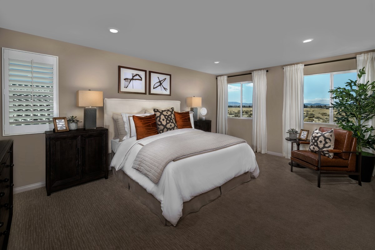 New Homes in Lancaster, CA - Dorado Skies II  Residence 3 - Master Bedroom