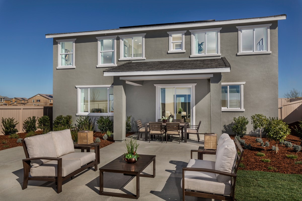 New Homes in Lancaster, CA - Dorado Skies II  Residence 3 - Patio