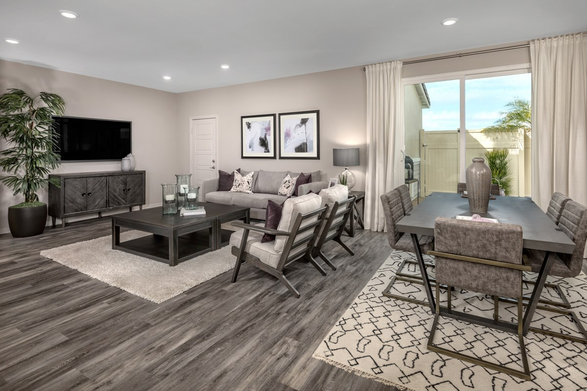 New Homes in Compton, CA - Edgemont Residence 2 - Great Room