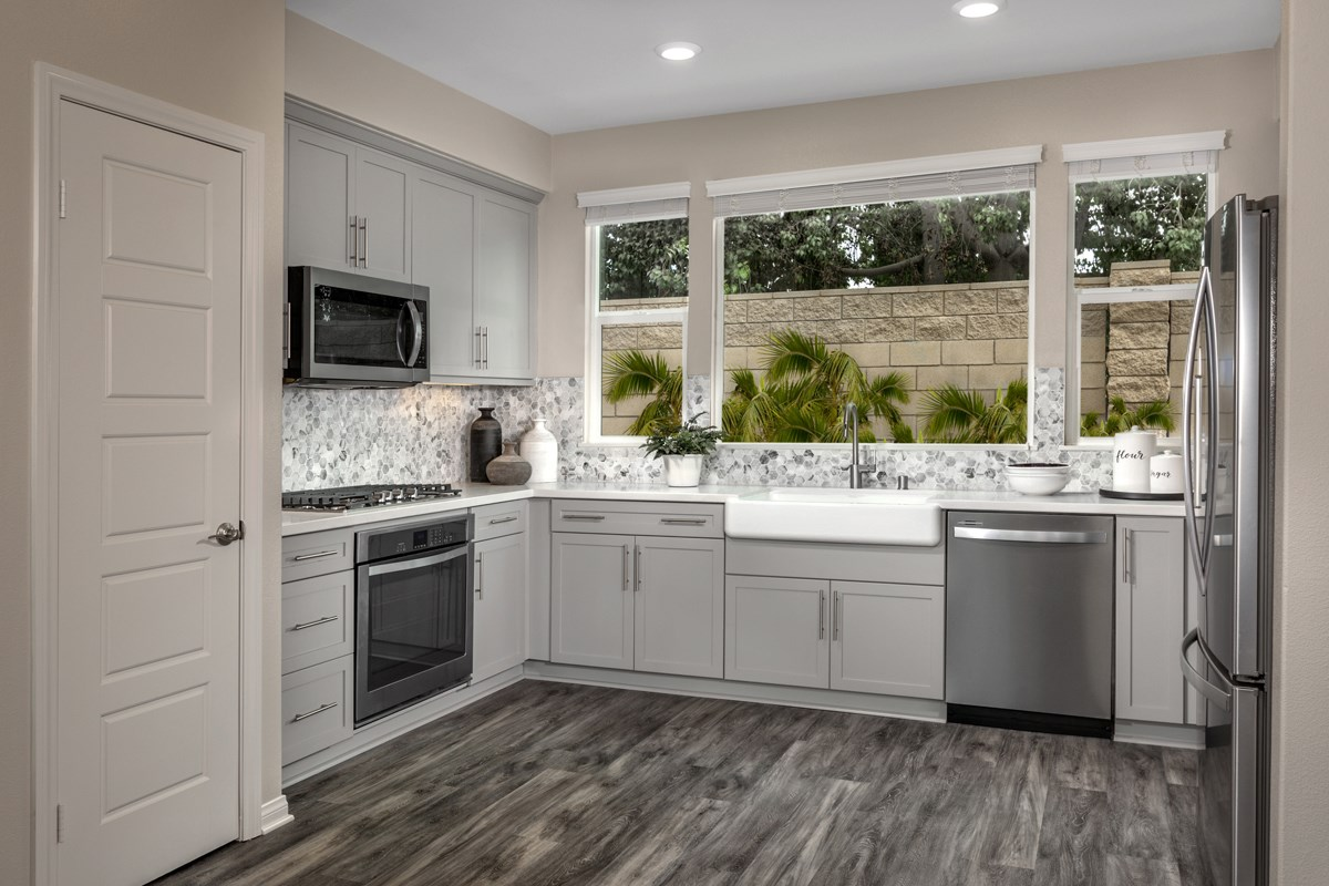 New Homes in Compton, CA - Edgemont Residence 2 - Kitchen