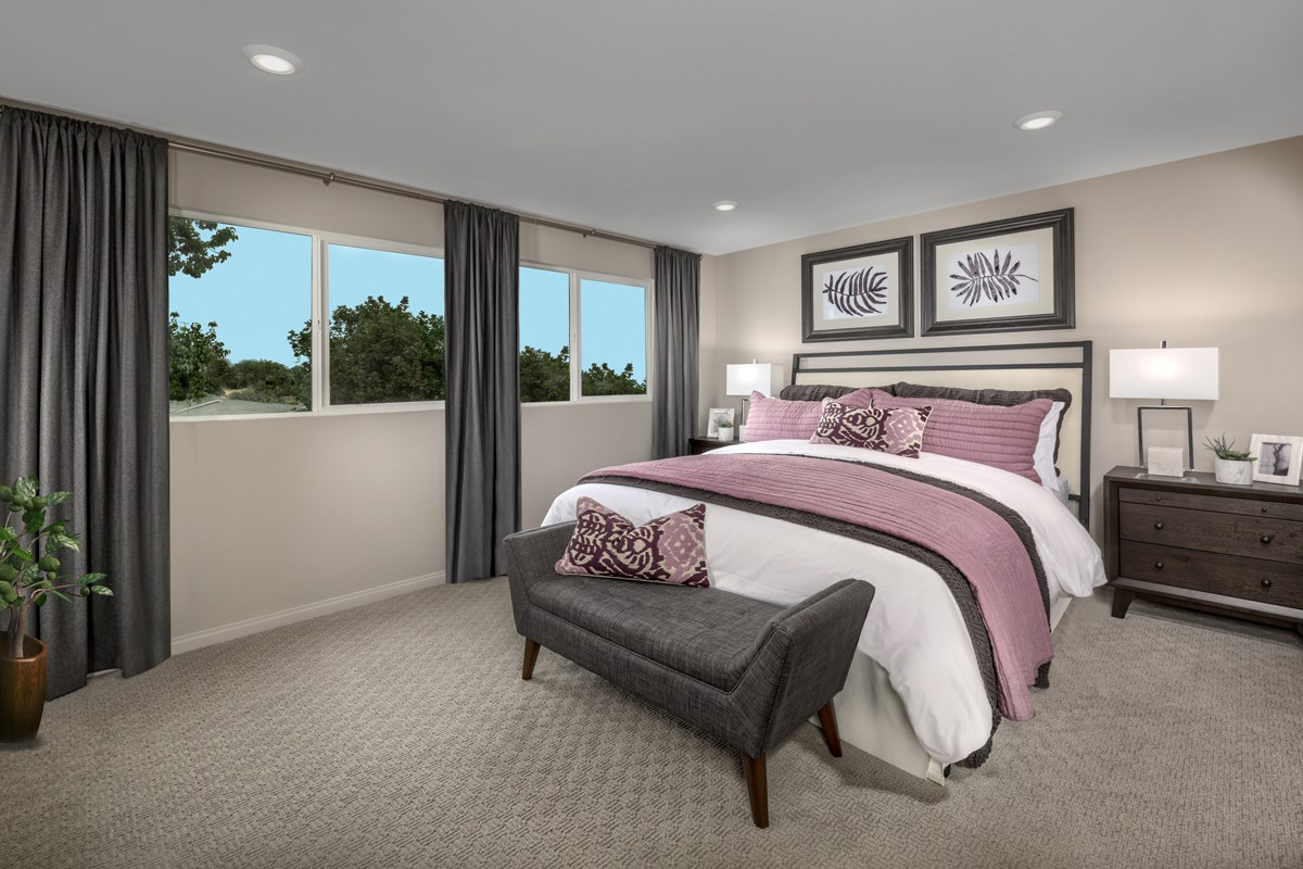 New Homes in Compton, CA - Edgemont Residence 2 - Master Bedroom