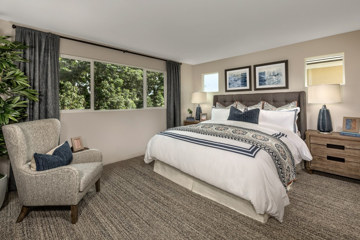New Homes in Compton, CA - Edgemont Residence 3 - Master Bedroom
