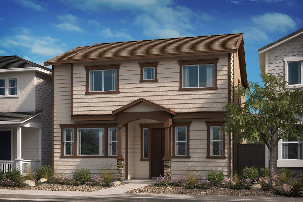 New Homes in Compton, CA - Edgemont Residence 2 - Spanish 'B'