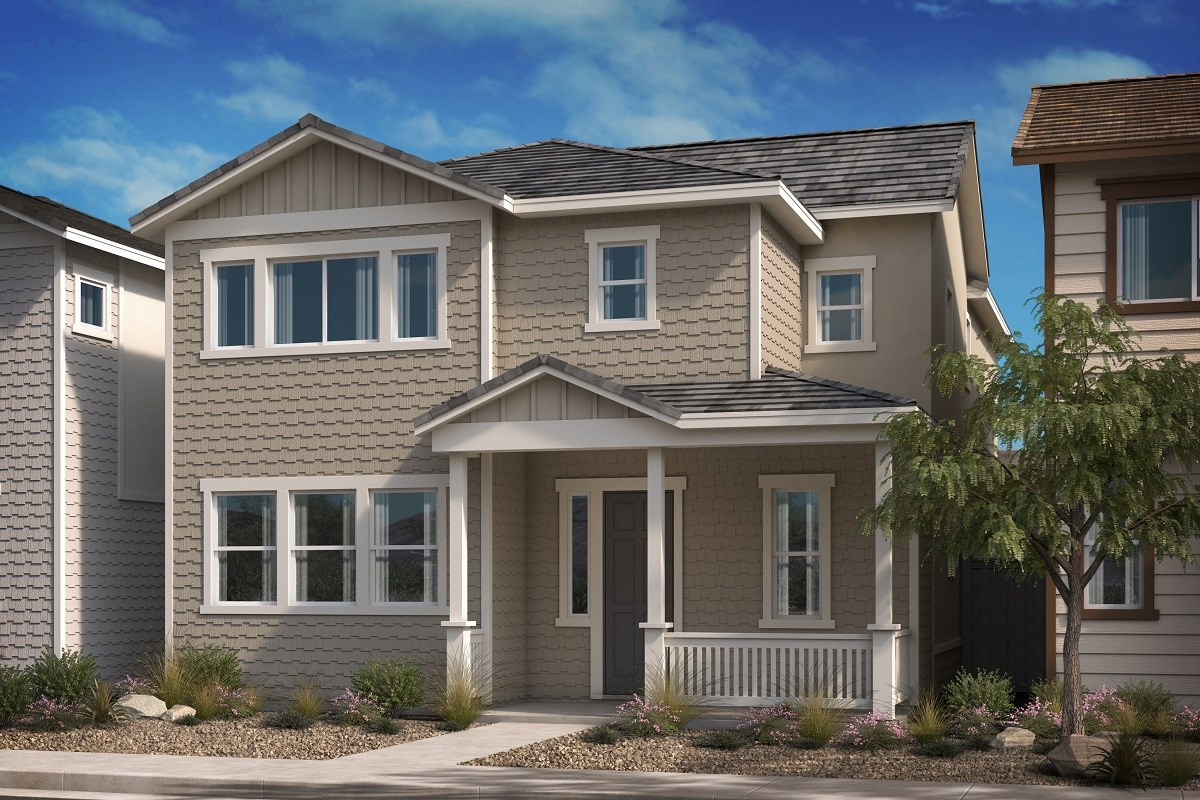 New Homes in Compton, CA - Edgemont Residence 4 - Spanish 'A'