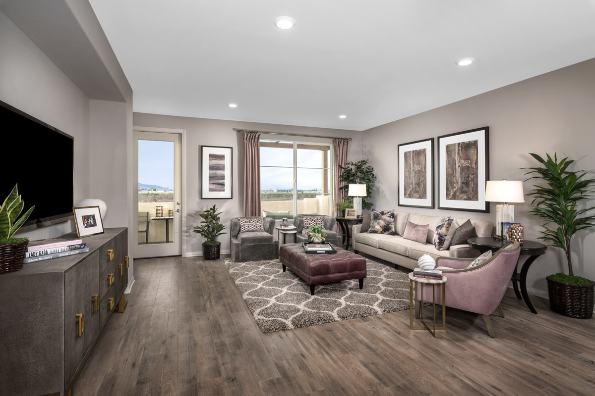New Homes in Camarillo, CA - Mariposa at Springville Residence Three Great Room