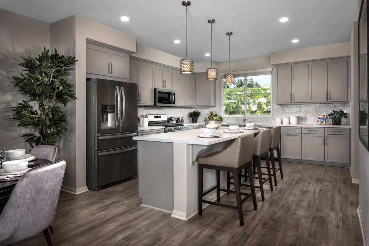New Homes in Camarillo, CA - Mariposa at Springville Residence Three Kitchen