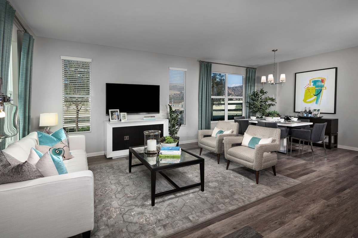 New Homes in Camarillo, CA - Mariposa at Springville Residence One Great Room