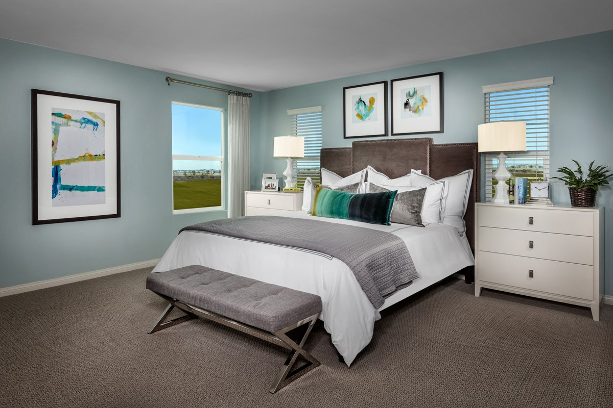 New Homes in Camarillo, CA - Mariposa at Springville Residence One Master Bedroom