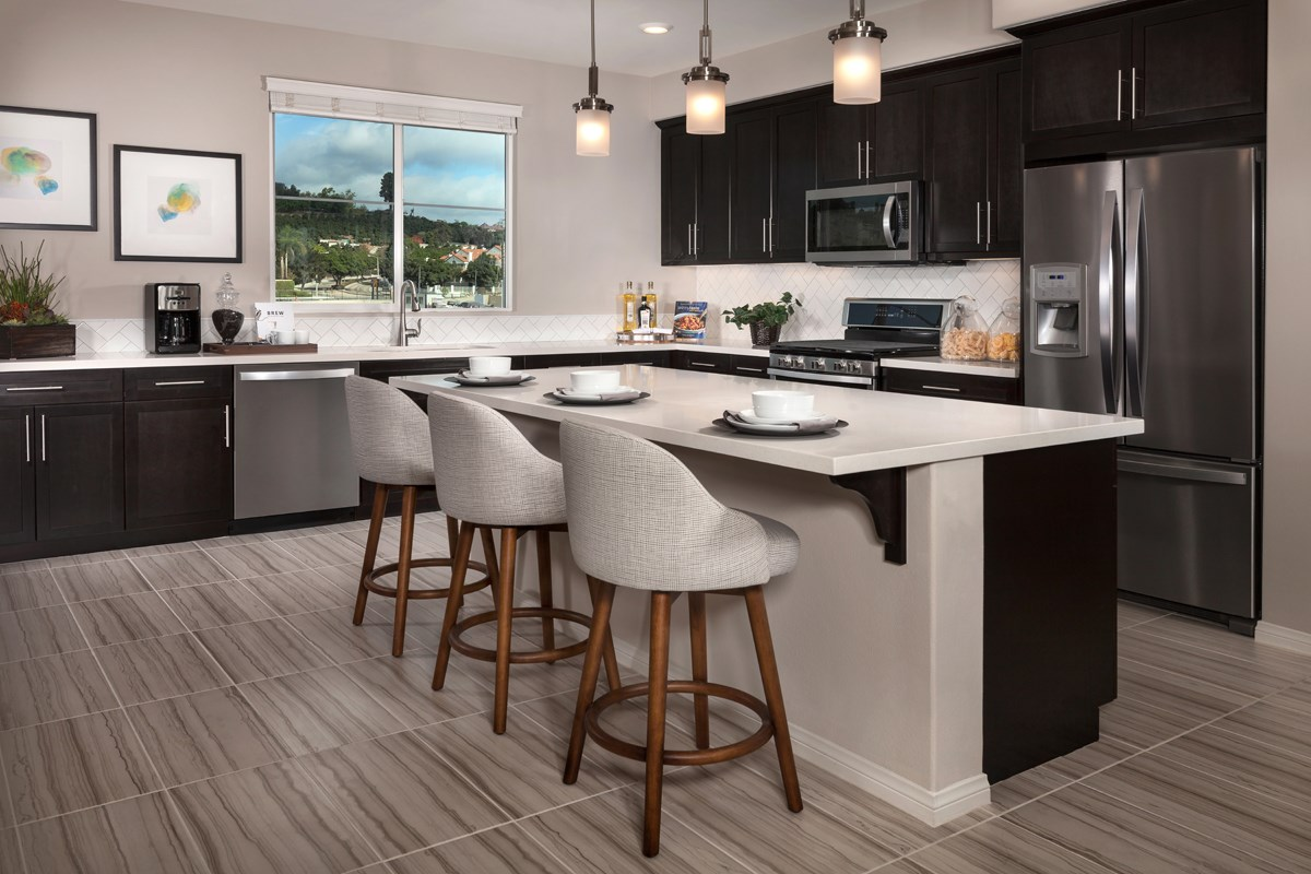 New Homes in Camarillo, CA - Mariposa at Springville Residence Two Kitchen
