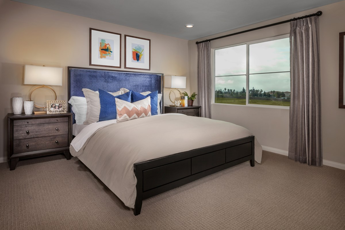 New Homes in Camarillo, CA - Mariposa at Springville Residence Two Master Bedroom