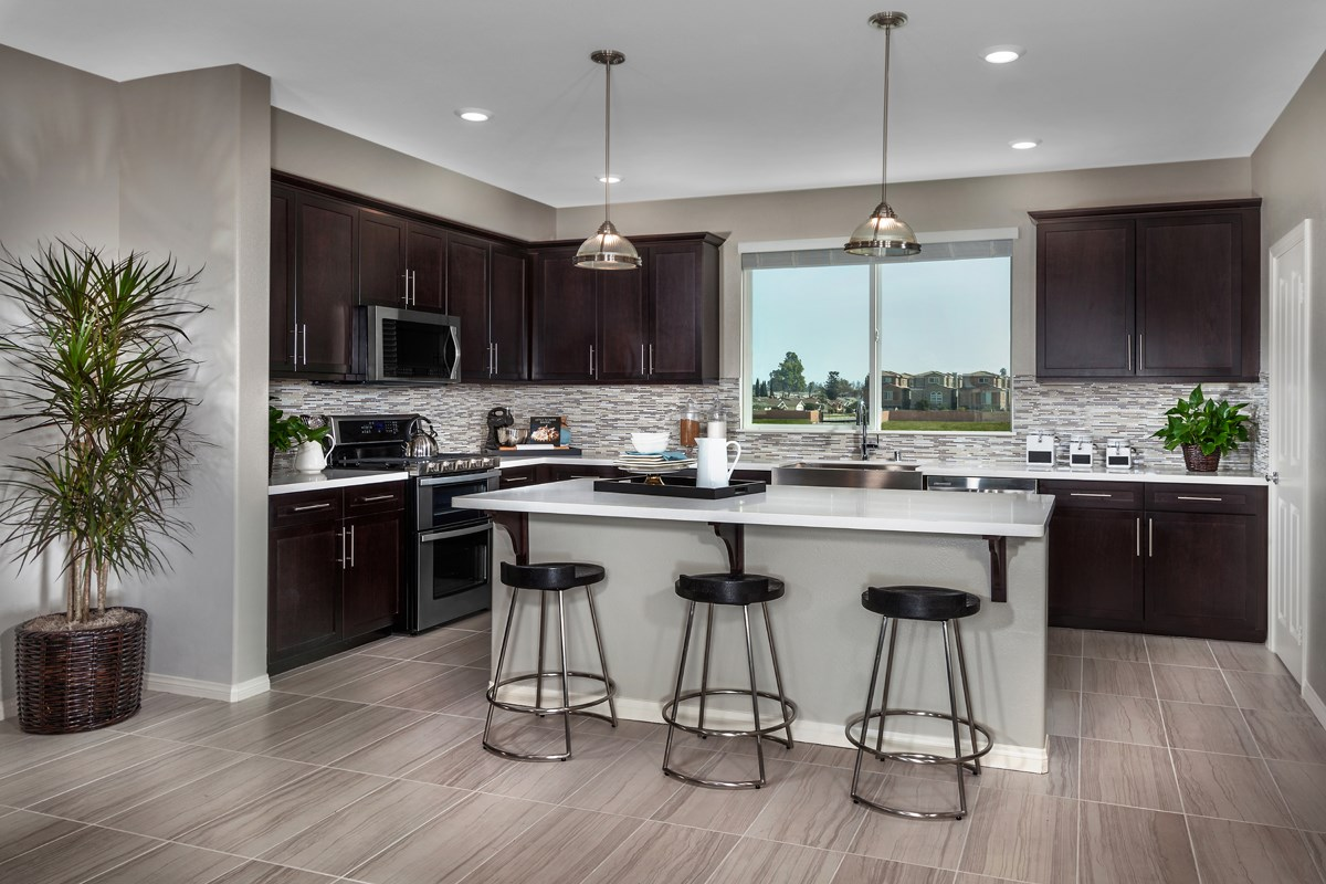 New Homes in Gardena, CA - Newfield Residence One Kitchen