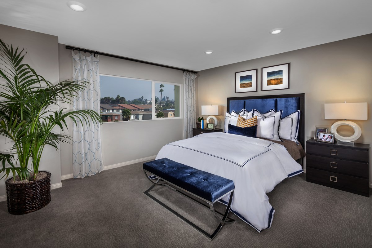 New Homes in Gardena, CA - Newfield Residence One Master Bedroom