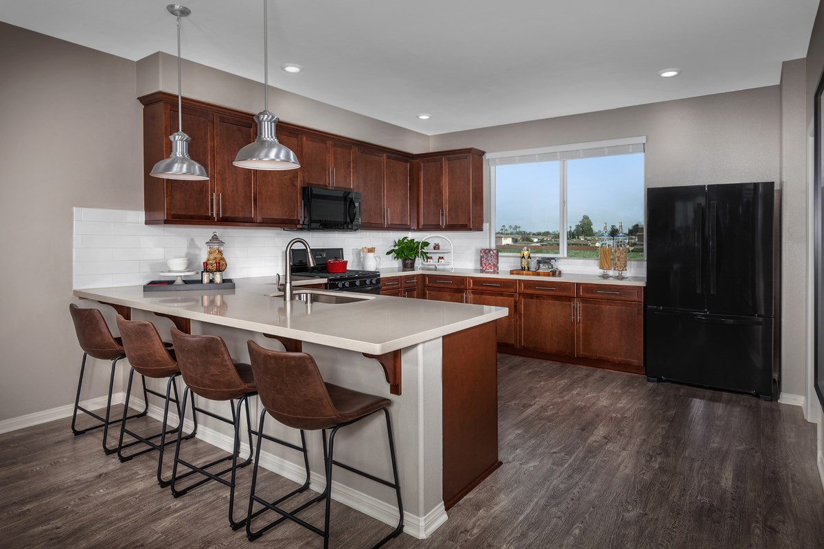 New Homes in Gardena, CA - Newfield Residence Two Kitchen