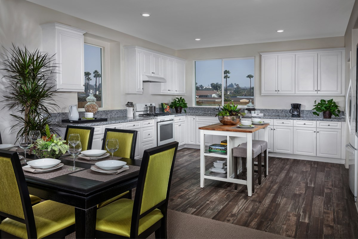 New Homes in Gardena, CA - Newfield Residence Three Kitchen