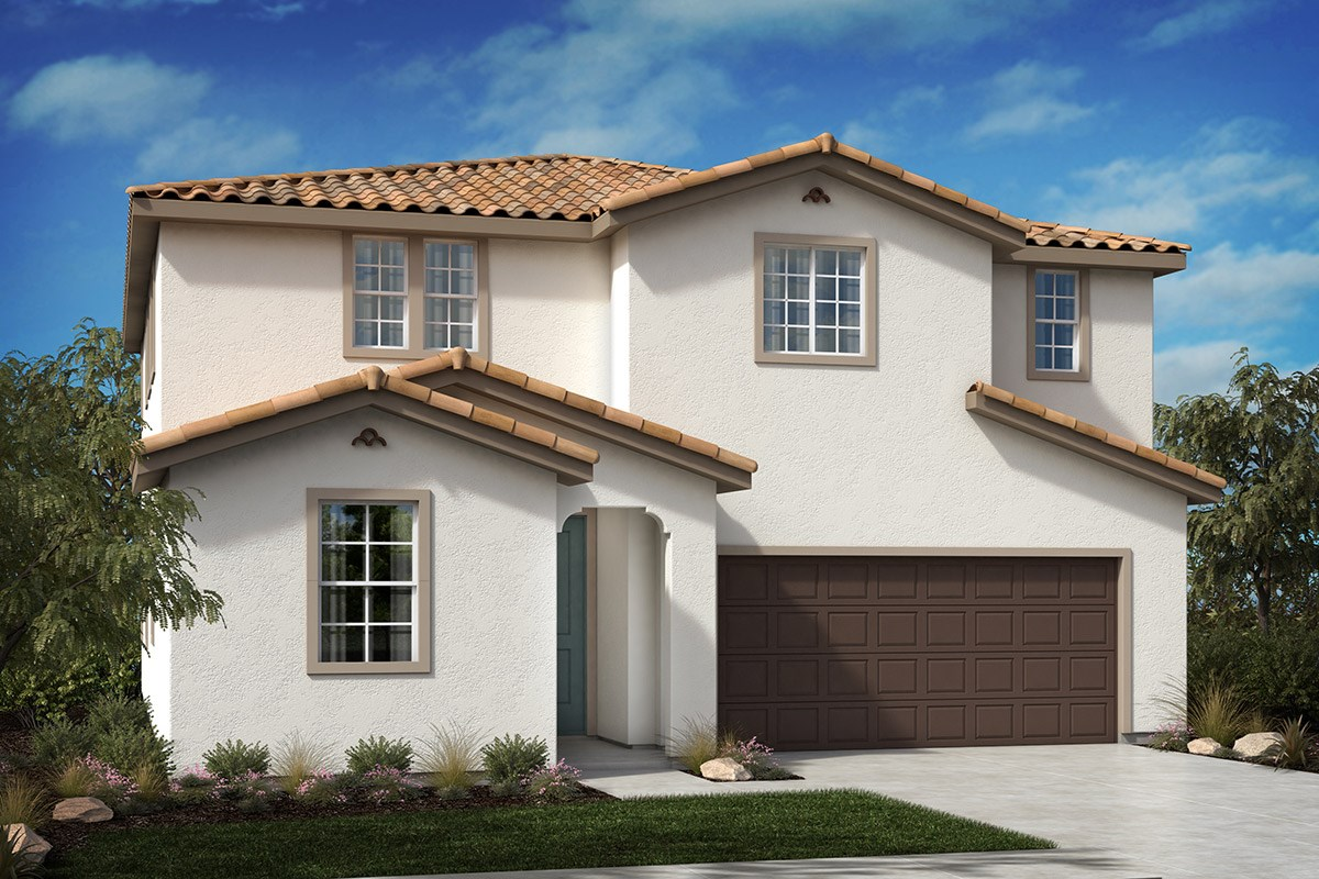 New Homes in North Hills, CA - Oak Pointe Residence 2427 - Spanish