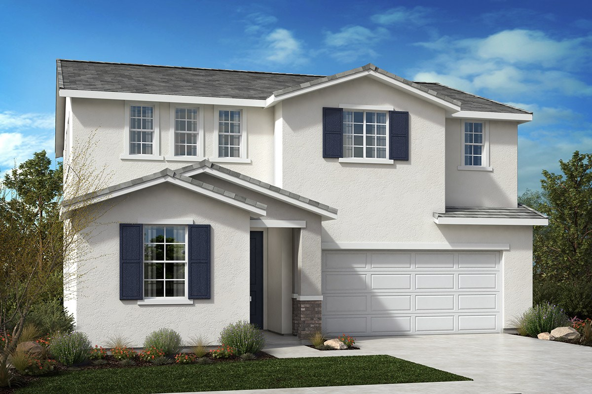 New Homes in North Hills, CA - Oak Pointe Residence 2427 - Traditional