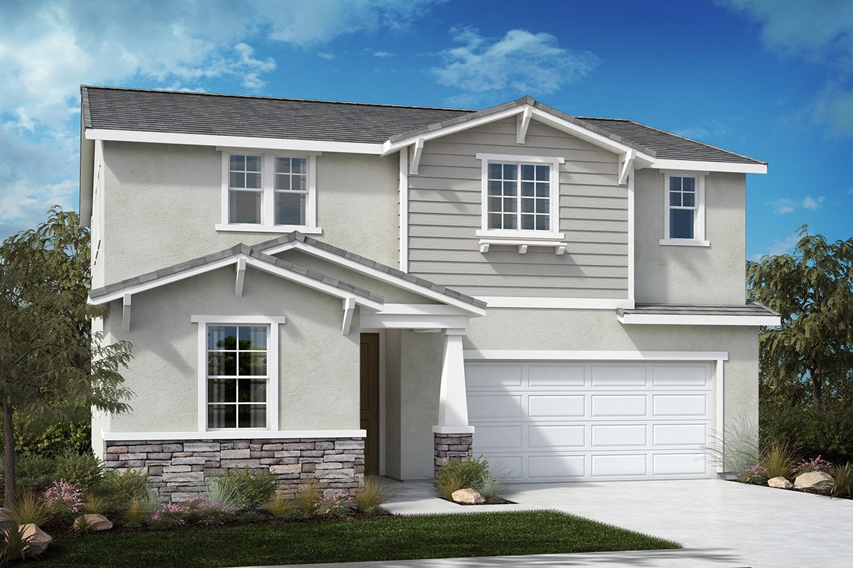 New Homes in North Hills, CA - Oak Pointe Residence 2427 - Craftsman