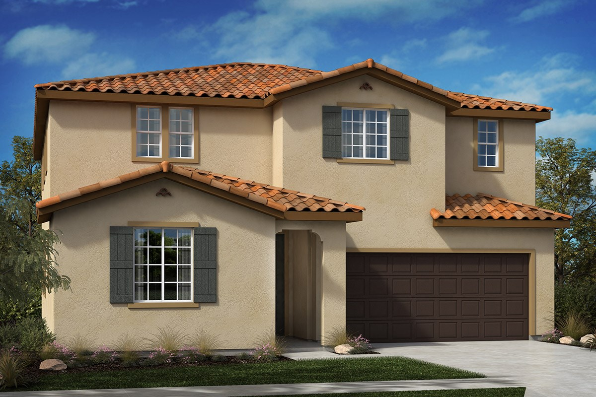 New Homes in North Hills, CA - Oak Pointe Residence 2892 - Spanish 'A'