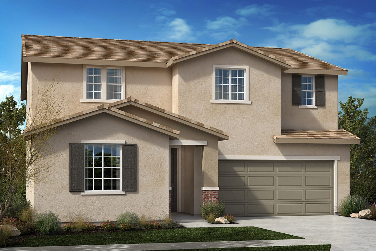 New Homes in North Hills, CA - Oak Pointe Residence 2892 - Traditional 'B'