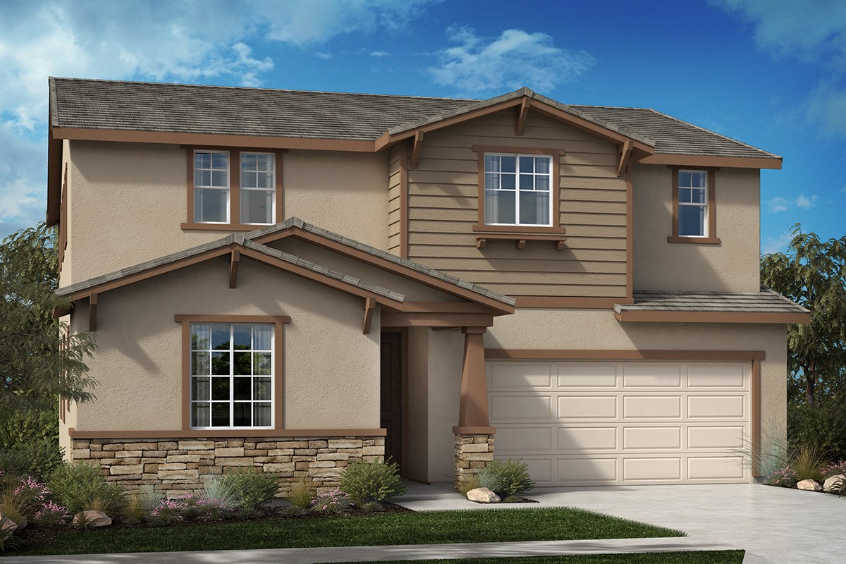 New Homes in North Hills, CA - Oak Pointe Residence 2892 - Craftsman 'C'