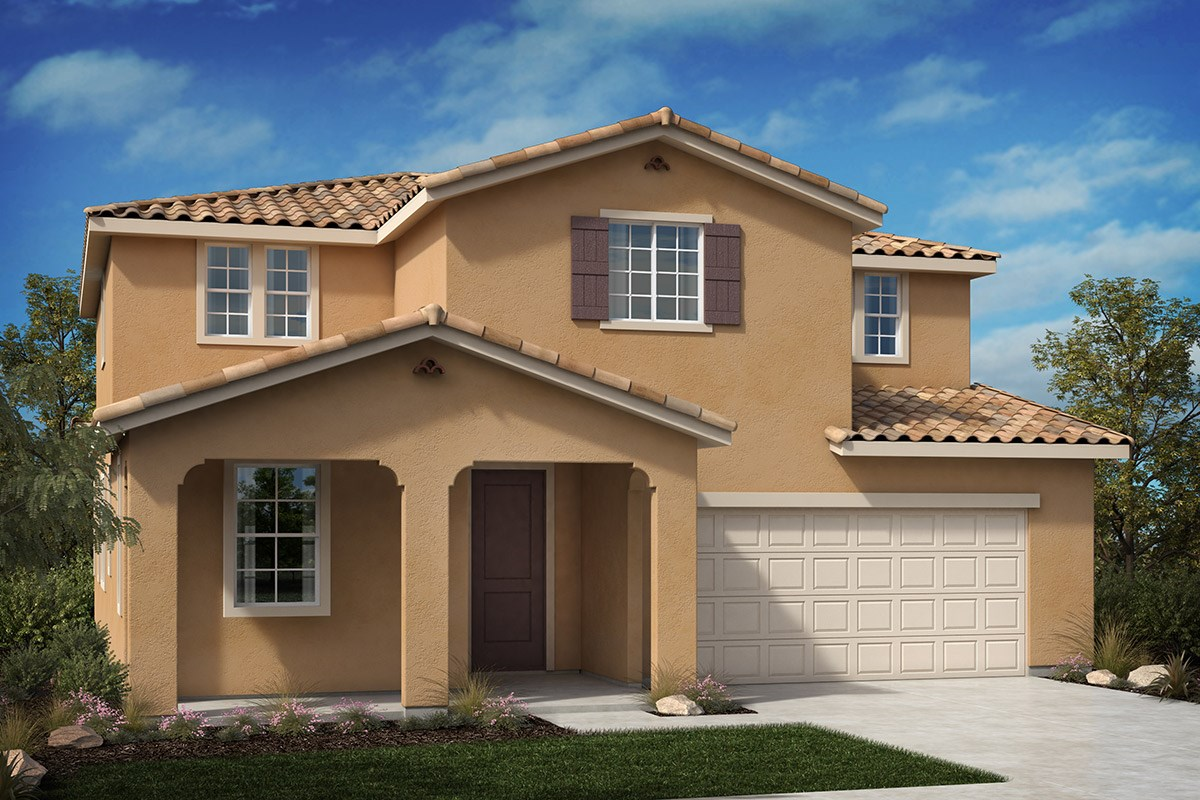 New Homes in North Hills, CA - Oak Pointe Residence 2952 - Spanish 'A'