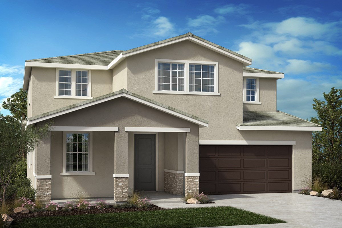 New Homes in North Hills, CA - Oak Pointe Residence 2952 - Traditional 'B'