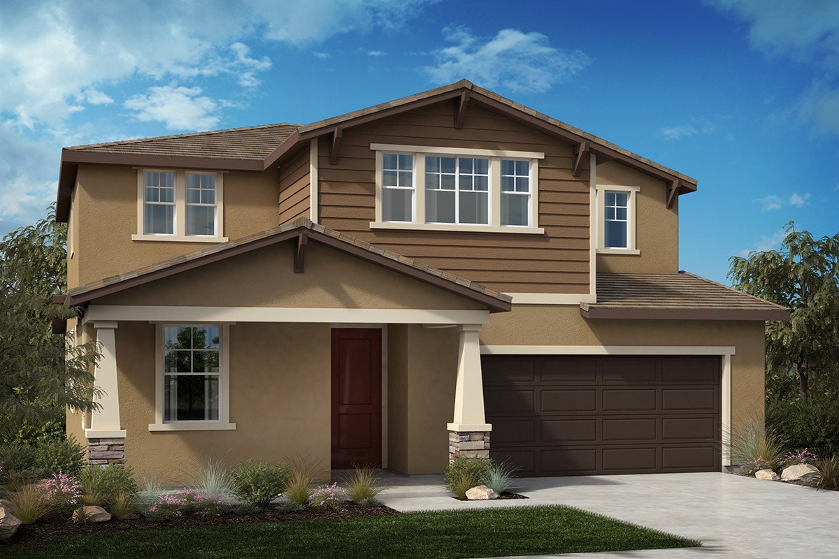 New Homes in North Hills, CA - Oak Pointe Residence 2952 - Craftsman 'C'