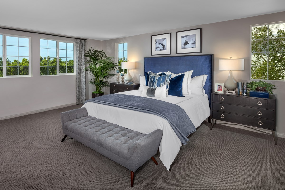 New Homes in North Hills, CA - Oak Pointe Residence 2427 - Master Bedroom