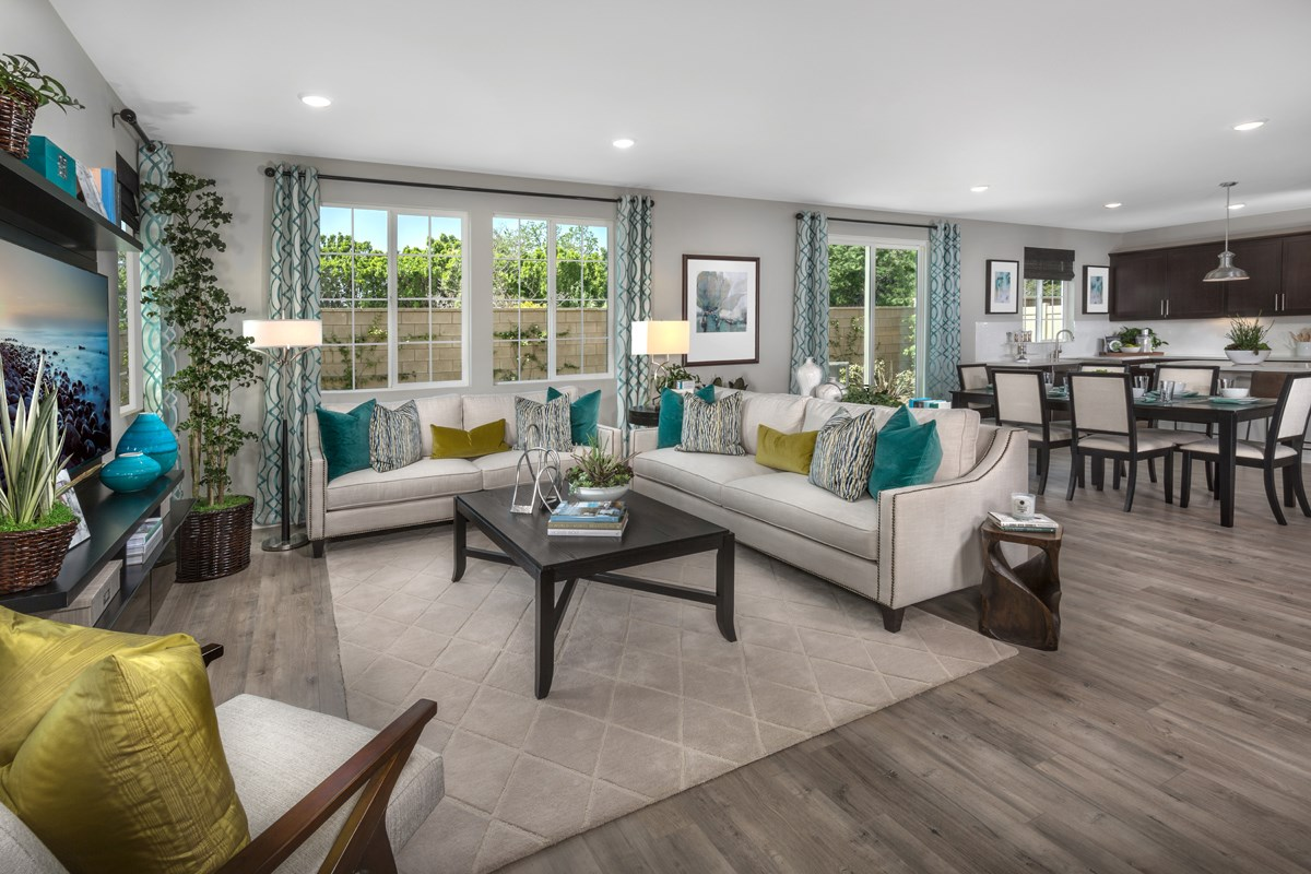 New Homes in North Hills, CA - Oak Pointe Residence 2952 - Great Room