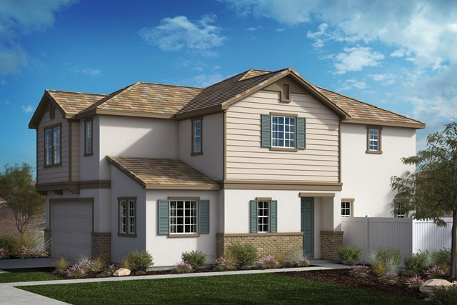 New Homes in Lake View Terrace, CA - Residence 4 - Traditional 'C'