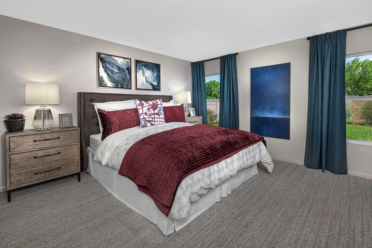 New Homes in Lancaster, CA - Sapphire Dunes Residence 1430 - Master Bedroom