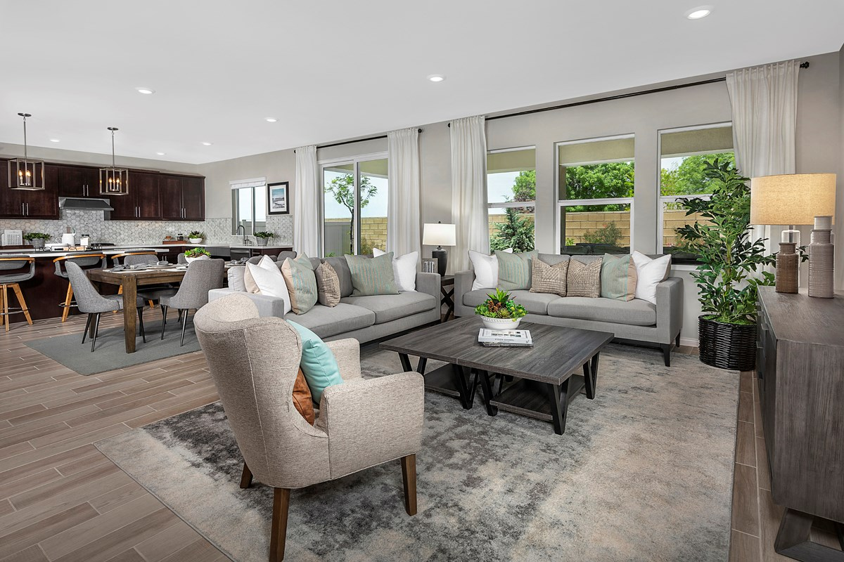 New Homes in Lancaster, CA - Sapphire Dunes Residence 2325 - Great Room