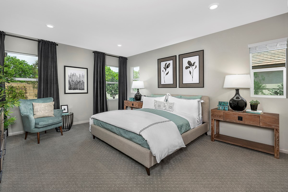 New Homes in Lancaster, CA - Sapphire Dunes Residence 2325 - Master Bedroom